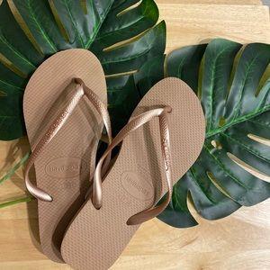 NWOT Havaianas Flip Flops
